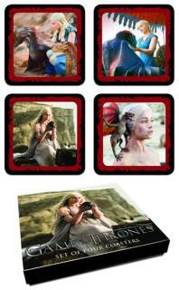 Game of Thrones Coaster Set Daenerys Targaryen