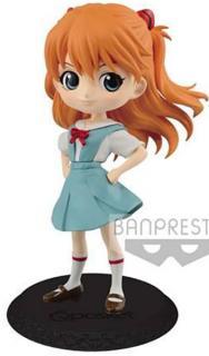 Evangelion Movie Q Posket Mini Figure Asuka Langley Ver. B
