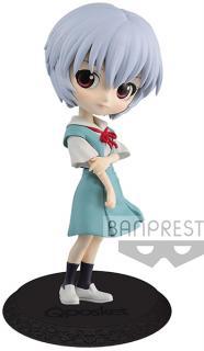 Evangelion Movie Q Posket Mini Figure Rei Ayanami Ver. B