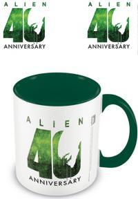 Alien Coloured Inner Mug 40th Anniversary