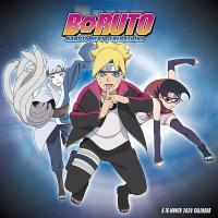 Boruto Naruto Next Generation 2020 Wall Calendar
