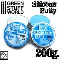 Two Part Silicone Putty 200gr