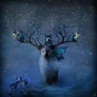 Vykort - Winterlings