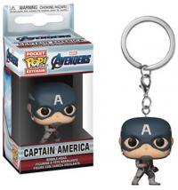 Avengers Endgame Captain America Pop! Vinyl Figure Keychain