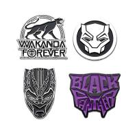 Black Panther Collectors Pins 4-Pack