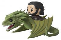 Jon Snow & Rhaegal Pop! Rides Vinyl Figure