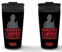 Travel Mug Coffee and Contemplation