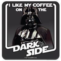 Darth Vader Coffee on the Dark Side Coaster