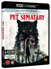 Pet Sematary/Jurtjyrkogården (2019, 4K Ultra HD+Blu-ray)