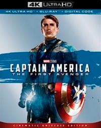 Captain America (2011, 4K Ultra HD+Blu-ray)