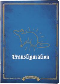 Harry Potter Exercise Notebook Transfiguration