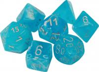 Luminary Sky/Silver (set of 7 dice)
