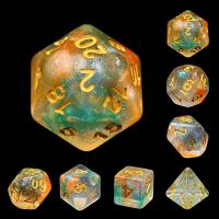 Luminous Koi (set of 7 dice)