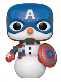 Holiday Captain America Snowman Pop! Vinyl Figure