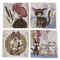 Kiki's Delivery Service Coaster 4-Pack Characters