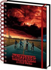 3D Cover A5 Wiro Notebook Mind Flayer