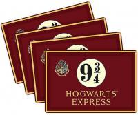 Harry Potter Platform 9 3/4 Placemat Set