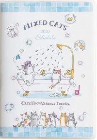 Mixed Cats Pocket Calendar 2020