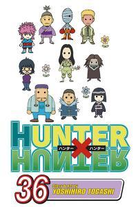 Hunter X Hunter Vol 36