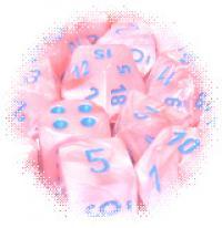 Lustrous Pink/Blue