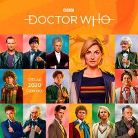 Doctor Who Classic Edition Official 2020 Wall Calendar
