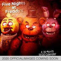 Five Nights At Freddy's 2020 Wall Calendar