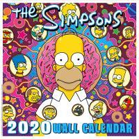 Simpsons Wall Calendar 2020