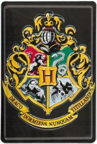 Harry Potter Tin Sign Hogwarts Logo