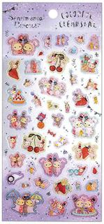 Sentimental Circus Stickers: Colorful Clearseal