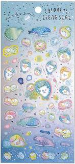 JinbeSan Stickers: Colorful Clearseal