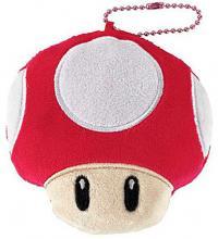 Super Mario Die-cut Coin Case Mushroom
