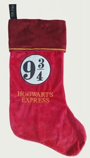 Harry Potter Fleece Christmas Stocking Hogwarts Express 9 3/4