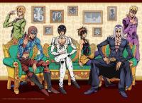 Bucciarati Team Original Illustration B2 Tapestry