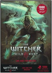 The Witcher 3 Wild Hunt Puzzle Ciri and the Wolves