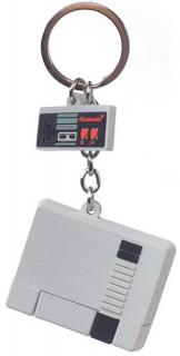Rubber Keychain NES 3D