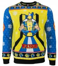 Wolverine Tree Lights Christmas Jumper