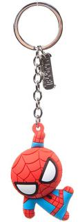 Spider-Man Rubber Keychain Character 3D