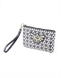 Coin Purse/Make Up Bag Zelda Black & White