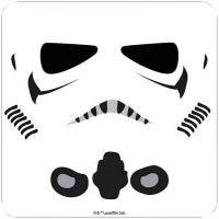Stormtrooper Face Coloured Coaster