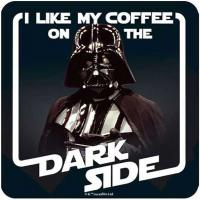 Darth Vader Coffee Coaster