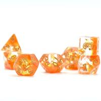 Season Dice Autumn Leaves (set of 7 dice)