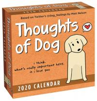 Thoughts of Dog 2020 Day-to-Day Calendar