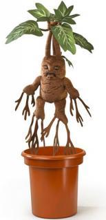 Harry Potter Interactive Plush Figure Mandrake 40 cm