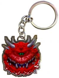 Metal Keychain Cacodemon Limited Edition 4 cm