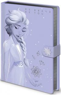 Frozen 2 Premium Notebook A5 Lilac Snow