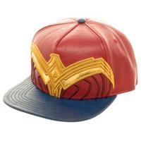 Wonder Woman Leather Snapback