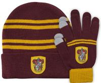 Harry Potter Beanie & Gloves Gryffindor Kids Set