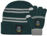 Harry Potter Beanie & Gloves Slytherin Kids Set