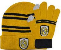 Harry Potter Beanie & Gloves Hufflepuff Kids Set