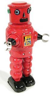 Roby Robot röd
